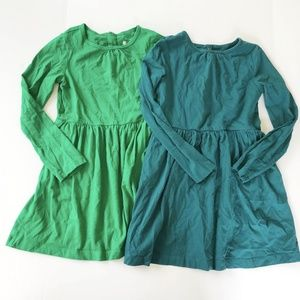 Primary Long Sleeve Cotton Dress Bundle